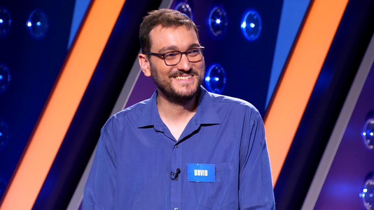 David Díaz, concursante de 'Saber y ganar'