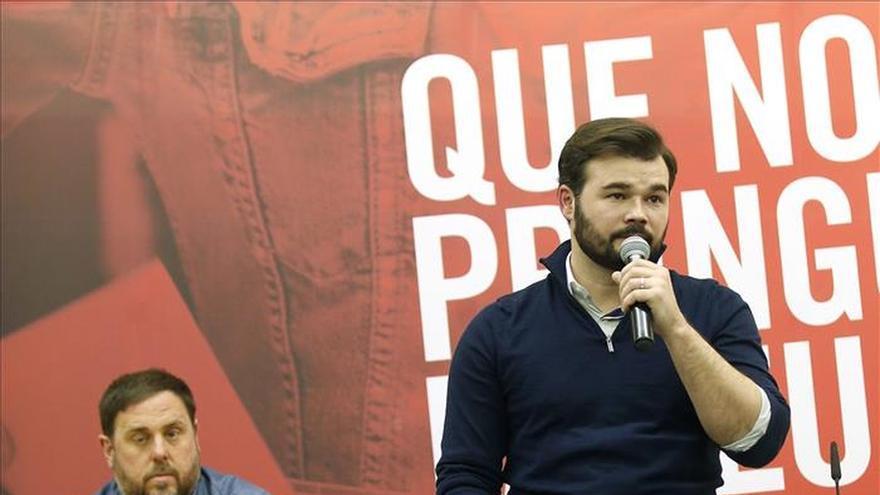 Junqueras y Rufián se afeitarán la barba si ERC gana el domingo en Cataluña
