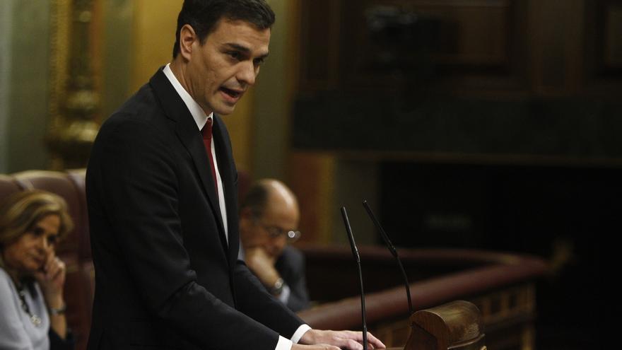 """Sánchez defiende que Rajoy no está """"capacitado ni legitimado"""" para liderar la lucha contra la corrupción"""