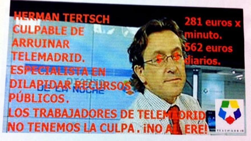 Los trabajadores de Telemadrid cargan contra Tertsch,Tárrega y Dragó