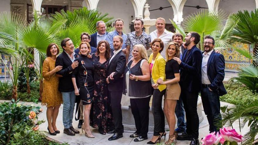 'Allí Abajo' en rodaje: Iñaki y Carmen van al norte... y una herencia lo revolucionará todo