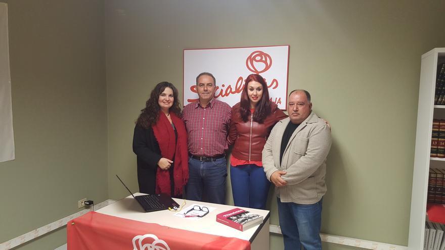 Ejecutiva del PSOE en Breña Baja.