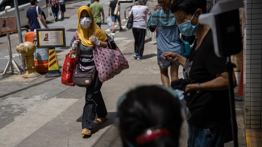 Hong Kong comenzará su campaña de test masivos gratuitos el 31 de agosto