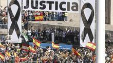 Mal trago para el PP de Rajoy en la manifestación de la AVT