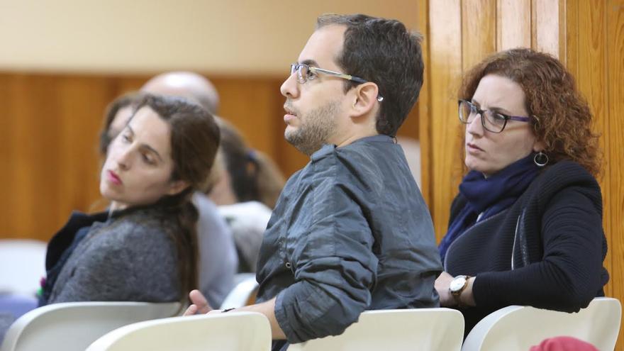 Miguel Montero, portavoz de Podemos en el Cabildo de Gran Canaria. (ALEJANDRO RAMOS)