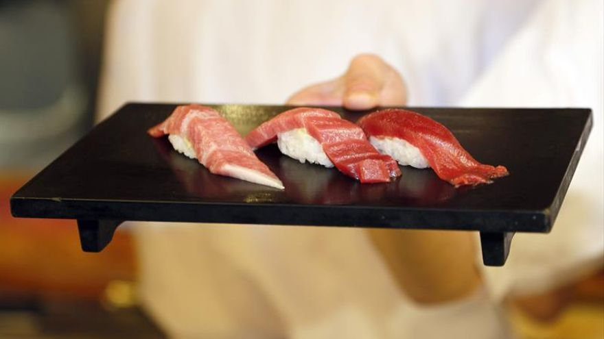 Sake de Mie y sashimi de atún y caviar, en el menú de los líderes del G7