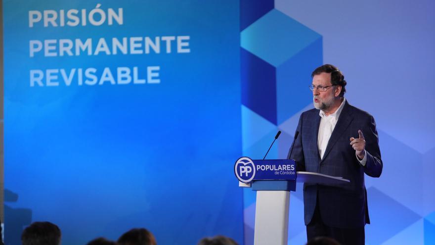 Mariano Rajoy durante la Convención del PP