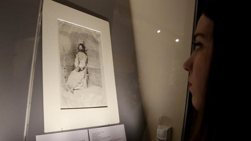 El Museo Lázaro Galdiano muestra por primera vez su colección gráfica de Goya