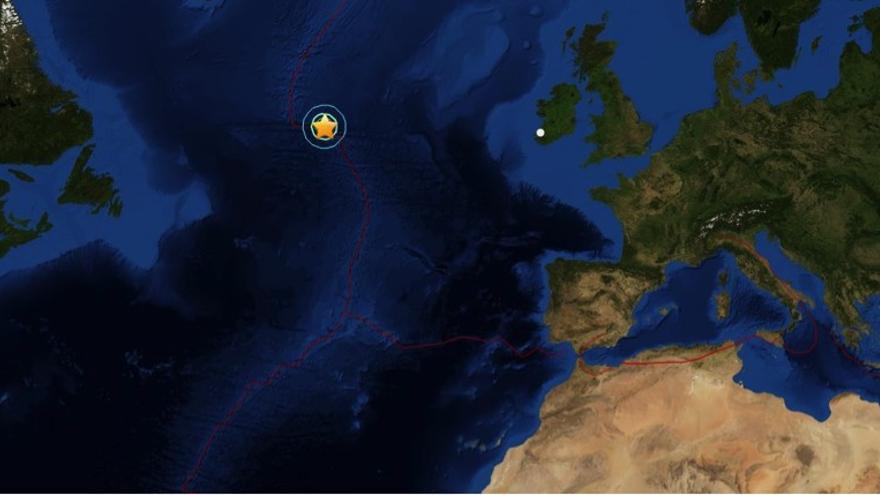 Localización del epicentro del terremoto 7.1 y sus réplicas. Fuente: USGS