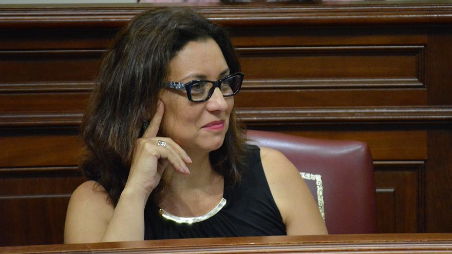 Carmen Rodríguez Herrera, diputada del PSOE en el Parlamento de Canarias.