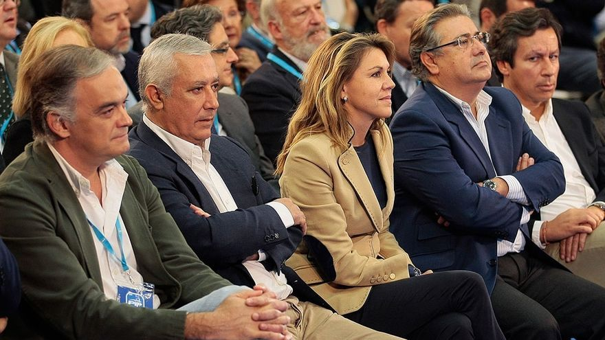 """Dirigentes del PP ven un """"error"""" el 'plante' de Rajoy a Aznar y piden reconducir la relación para que no se """"enquiste"""