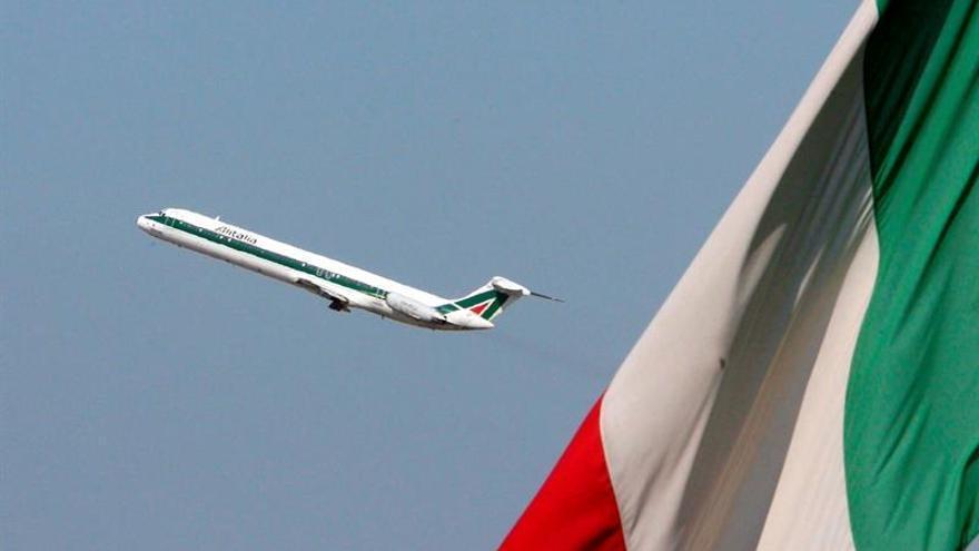 Alitalia y Meridiana, afectadas hoy por una huelga durante cuatro horas