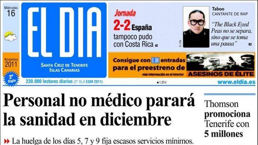 De las portadas del día (16/11/2011) #4