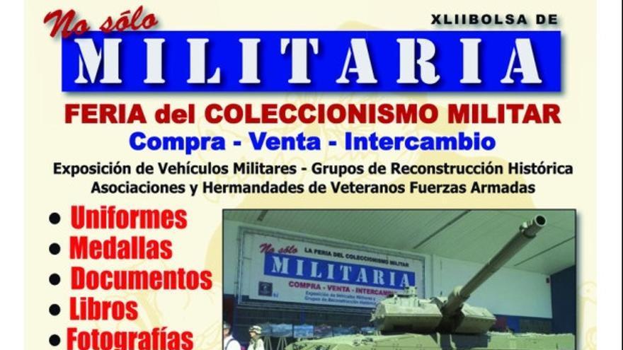 "Cartel Feria ""No Solo Militaria"""