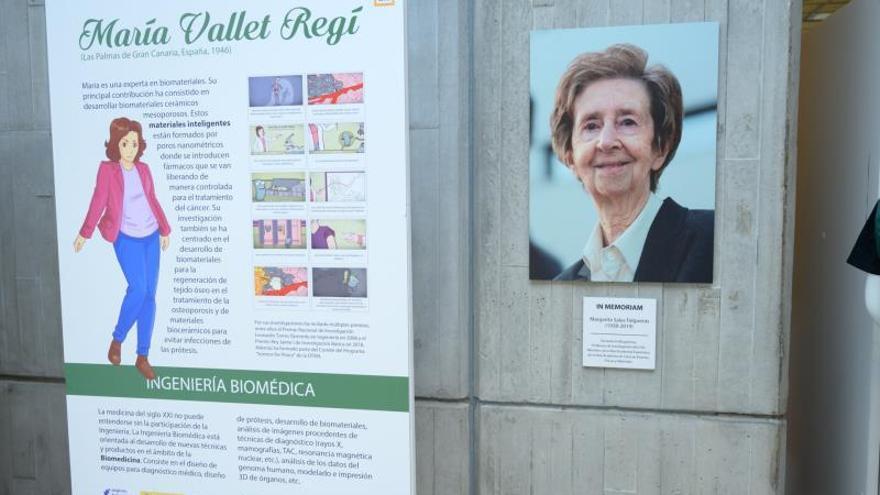 """Imagen de la muestra """"Mujeres ingeniosas. La ingeniería en femenino"""". Fotografía cedida por el Ministerio de Ciencia, Innovación y Universidades."""