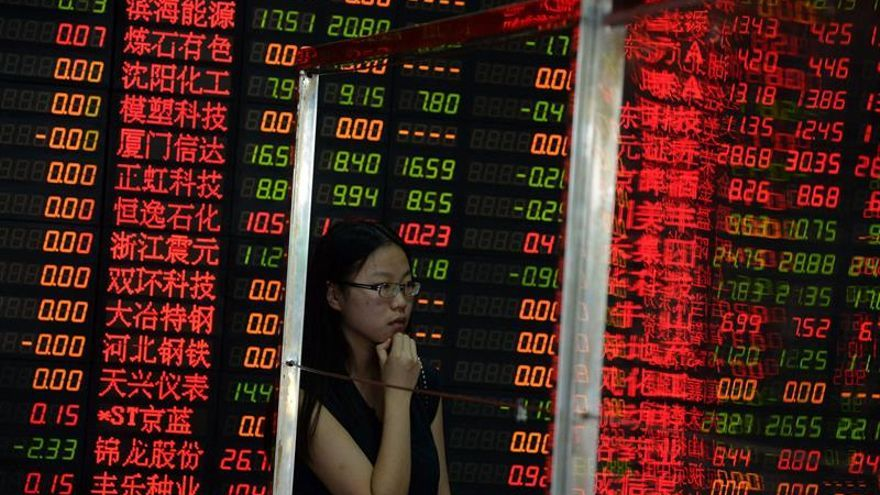 La Bolsa de Shanghái sube un 0,07 % en la apertura