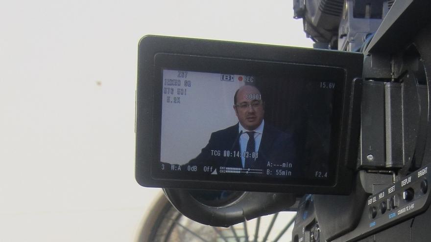 """Pedro Antonio Sánchez defiende que la obra del auditorio """"se hizo"""" y la subvención se invirtió """"al 100%"""""""