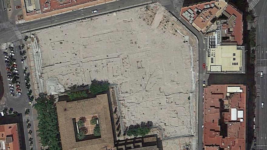 El Yacimiento de San Esteban sigue sin encontrar una solución / Foto: Google Earth