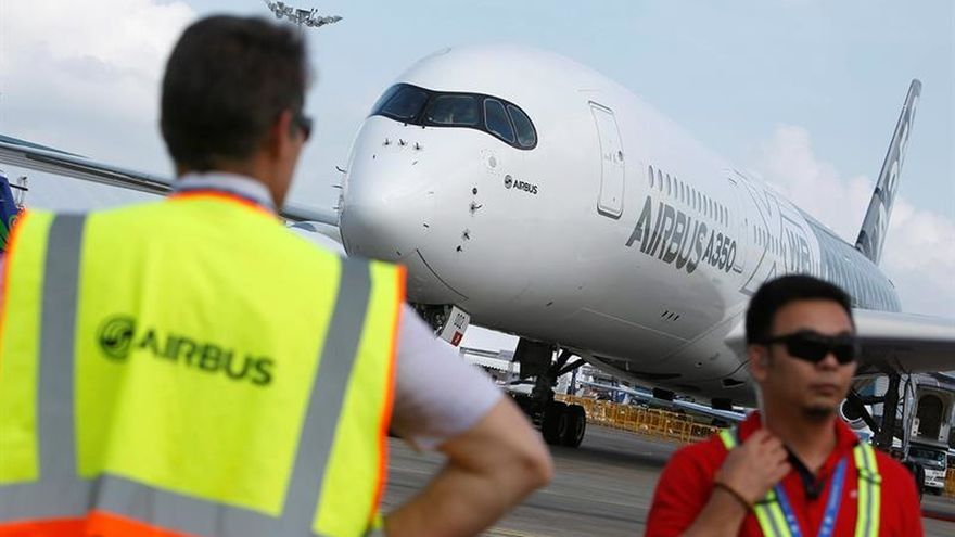 Airbus vende veinte aviones A350 a China Southern Airlines