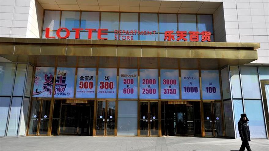El boicot chino acaba con el 90% de los establecimientos de la surcoreana Lotte