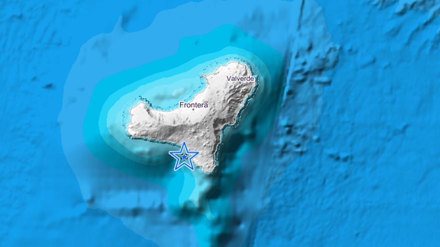 Registrado un terremoto de magnitud 3 en El Hierro