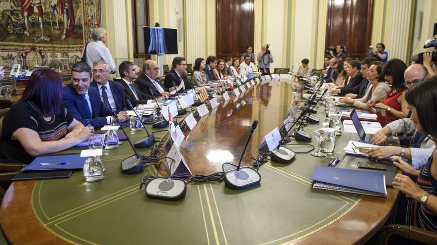 Imagen de la conferencia sectorial de Agricultura, este martes en Madrid