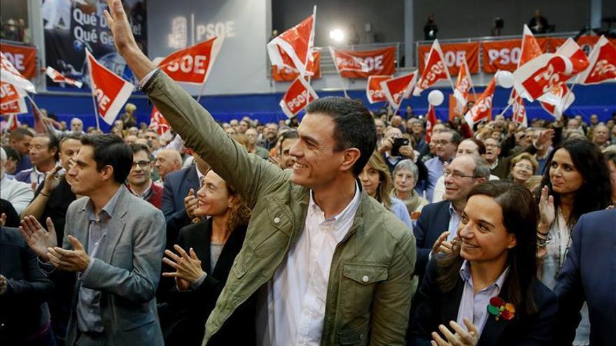"""Sánchez apela al voto útil para """"no poner freno al cambio"""""""