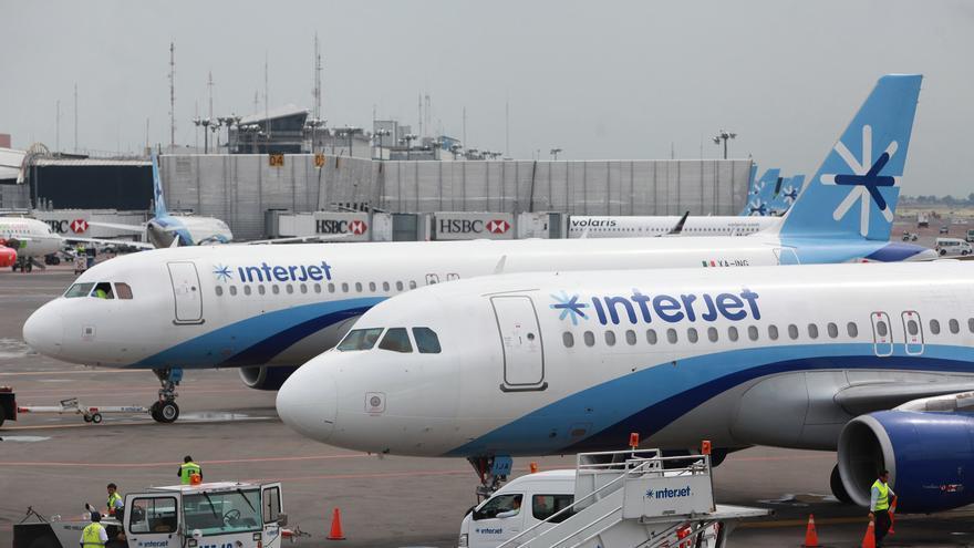 La mexicana Interjet buscará un concurso mercantil para salvar la aerolínea
