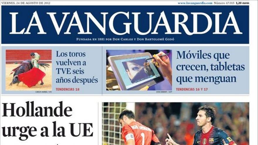 De las portadas del día (24/08/2012) #10