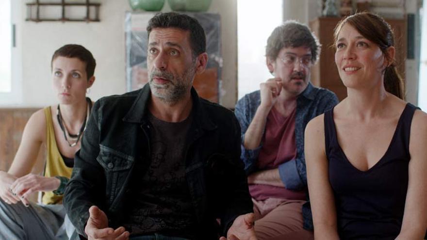 Un fotograma de 'Asamblea', que se estrena este 17 de abril en Filmin.