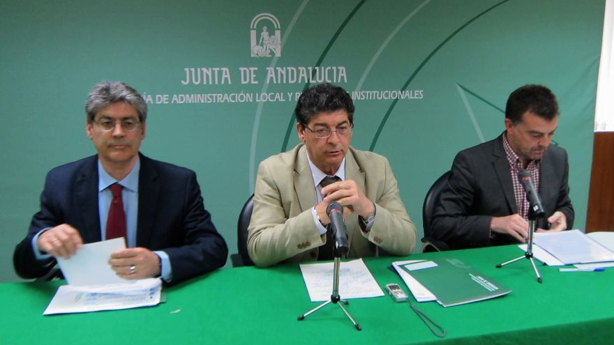 Vicepresidente andaluz destaca que el plan contra la exclusión social se gestionará al 50 por ciento por ayuntamientos
