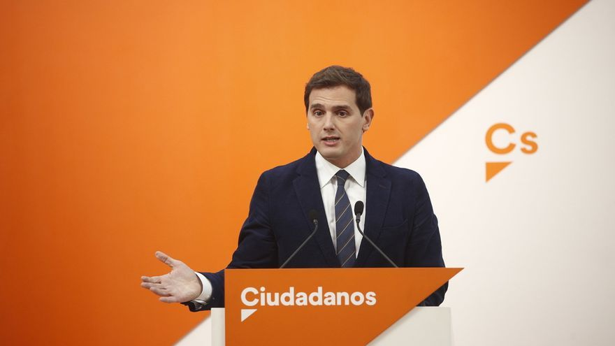 """Rivera reitera el rechazo de Ciudadanos a los Presupuestos de Sánchez por ser """"lo contrario de lo que necesita España"""""""