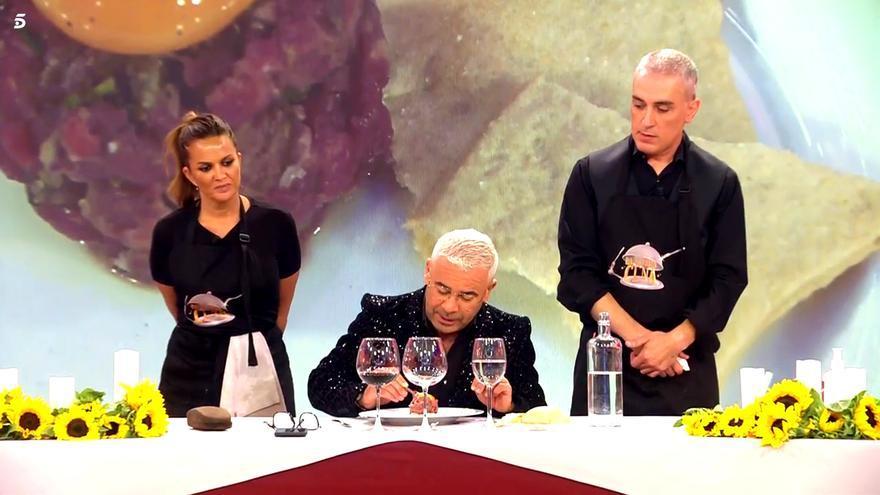 Marta López y Kiko Hernández cocinaron 'La última cena'