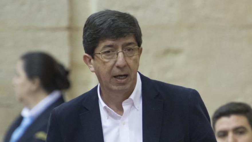Marín (C's): Si Díaz dejara la Junta habría que volver a sentarse a negociar