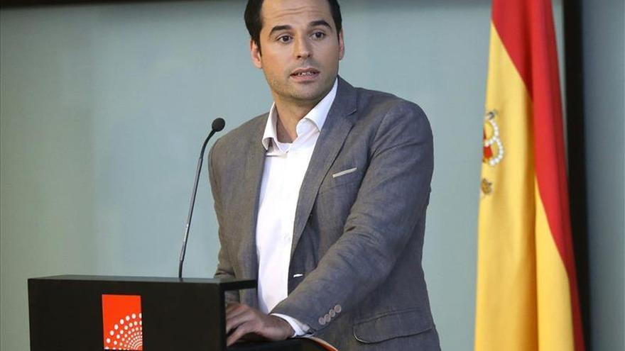 El portavoz de Ciudadanos, Ignacio Aguado.