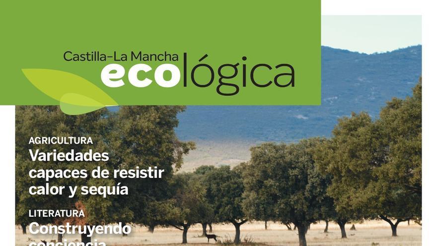 Portada del número dos de la revista 'Castilla-La Mancha Ecológica'