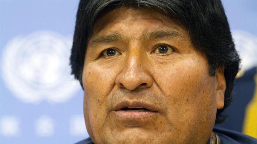 Evo Morales arriba a La Habana para asistir al acto en tributo a Fidel Castro