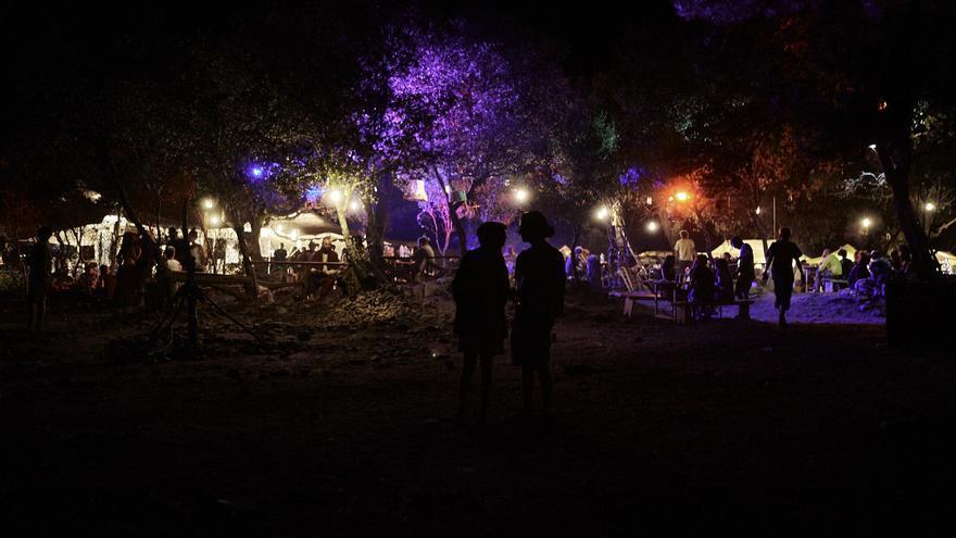 Vista nocturna del festival, que se celebró del 25 al 28 de agosto / Luis Álvarez