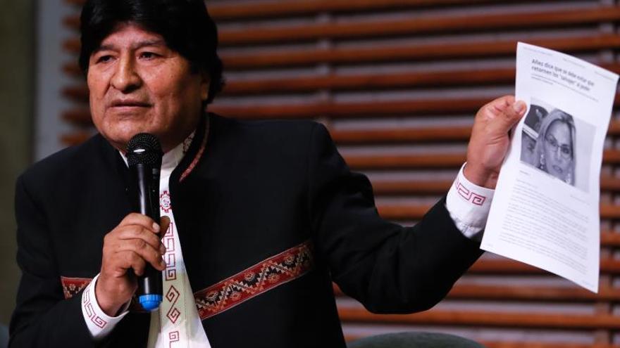 """Evo Morales: """"El Tribunal Supremo Electoral se somete a la dictadura"""""""