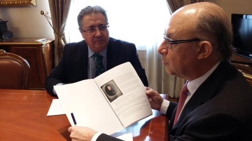"""Zoido critica que """"no se promociona"""" Murillo 2017 en Fitur, pese a tener la """"colaboración"""" de Gobierno"""