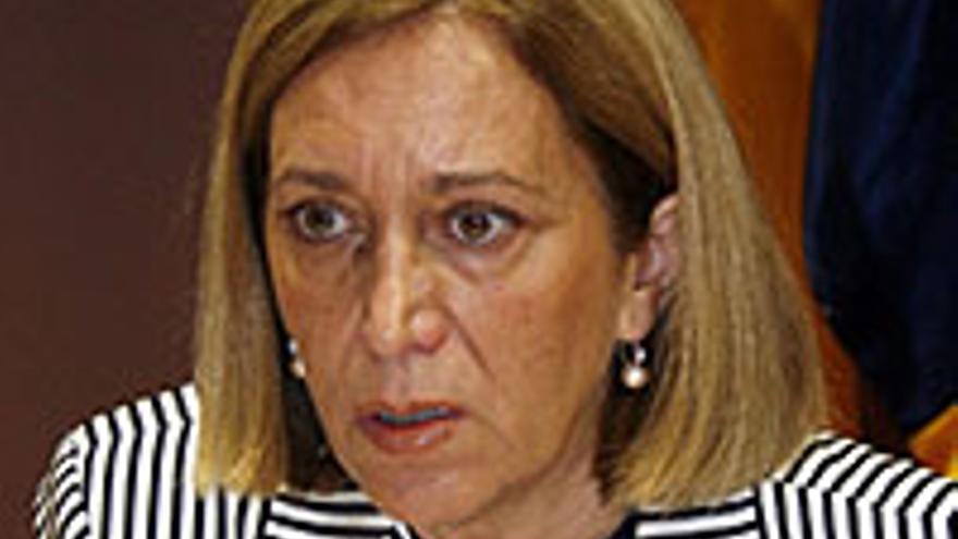 Mercedes Roldós, ex consejera de Sanidad.