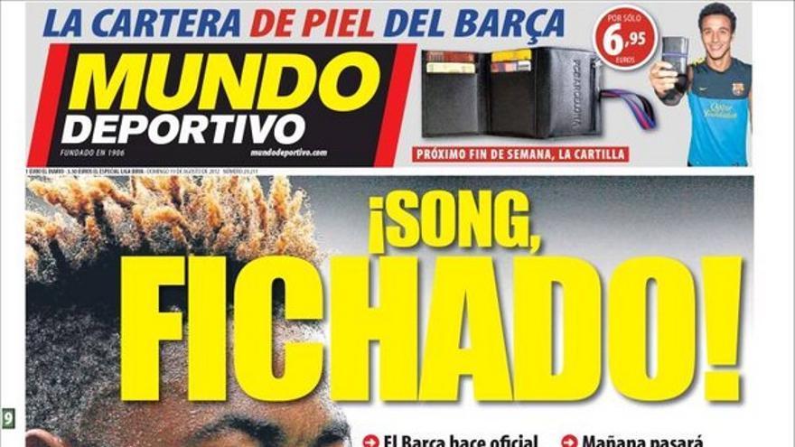 De las portadas del día (19/08/2012) #13