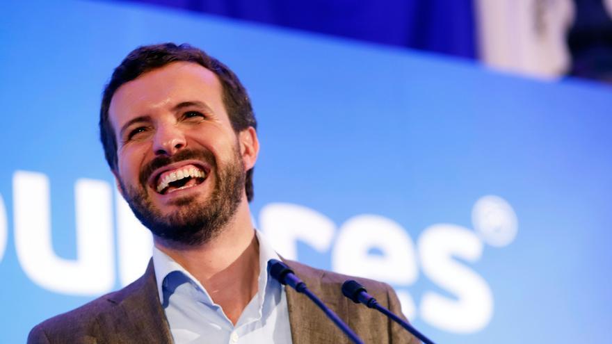 """Pablo Casado visitará este martes la Feria de Zafra como """"contrapeso"""" tras las palabras de Sánchez sobre el jamón"""
