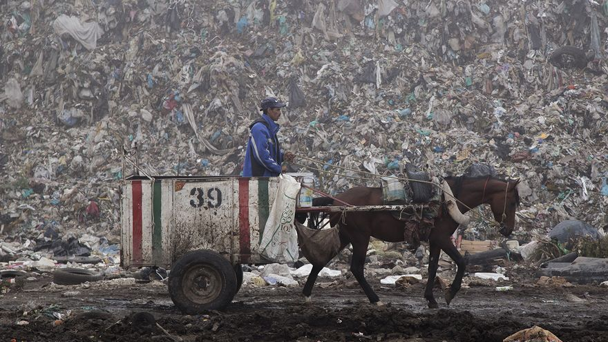 Bordo de Xochiaca (México)  Foto: Tras los Muros