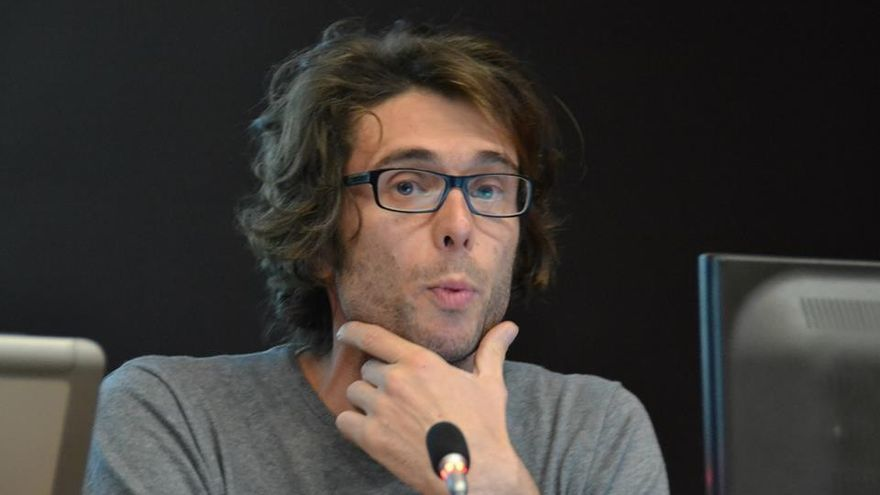Renaud Lambert, redactor jefe de Le Monde Diplomatique. /Foto cedida por la organización de las jornadas