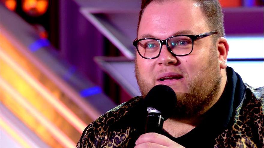 Enrique Ramil, en las audiciones de Factor X