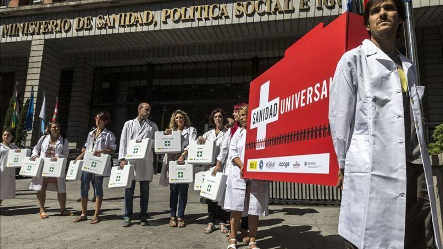 Las ong piden ante Sanidad la asistencia sanitaria para inmigrantes ilegales