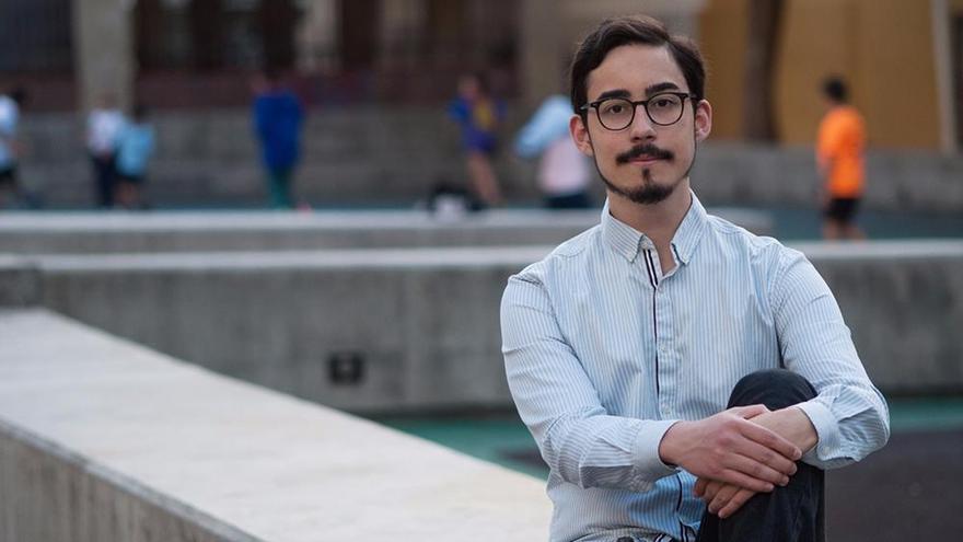 Daniel Tovar, único representante de La Palma en el Consejo de la Juventud de Canarias.