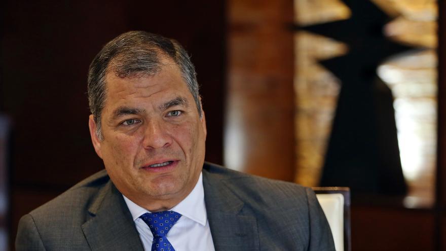 Correa oficializa su candidatura a la Vicepresidencia de Ecuador junto a Arauz