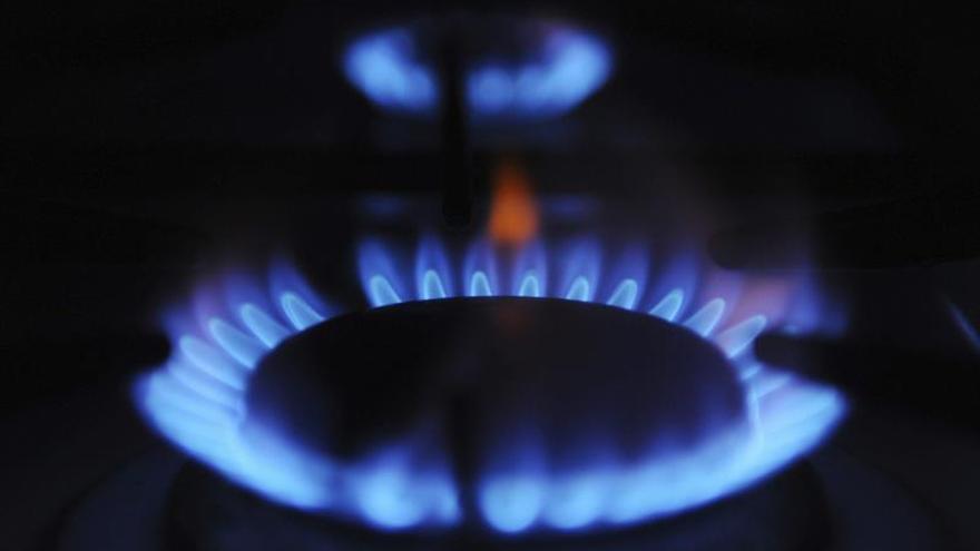 El precio del gas natural sube un 1,87 % a partir del próximo 1 de abril